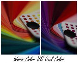 Warm Color vs. Cool Color
