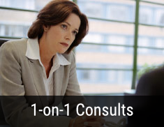 1-on-1 Consults