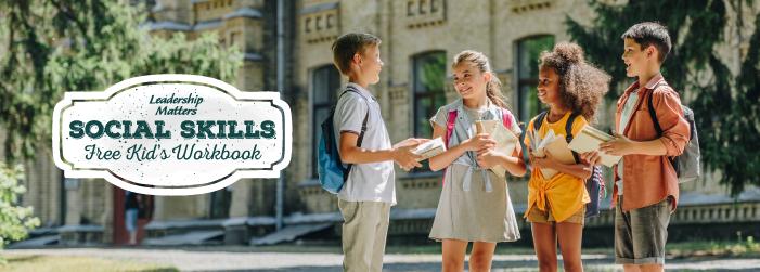 Social Skills FREE Kids Workbook